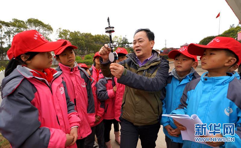 """江西南昌:气象专家进校园 开展""""安全大讲堂"""""""