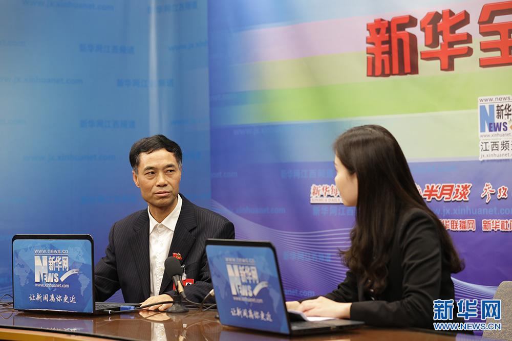 [新华全媒访谈]对话吉安市吉州区委书记朱谋俊