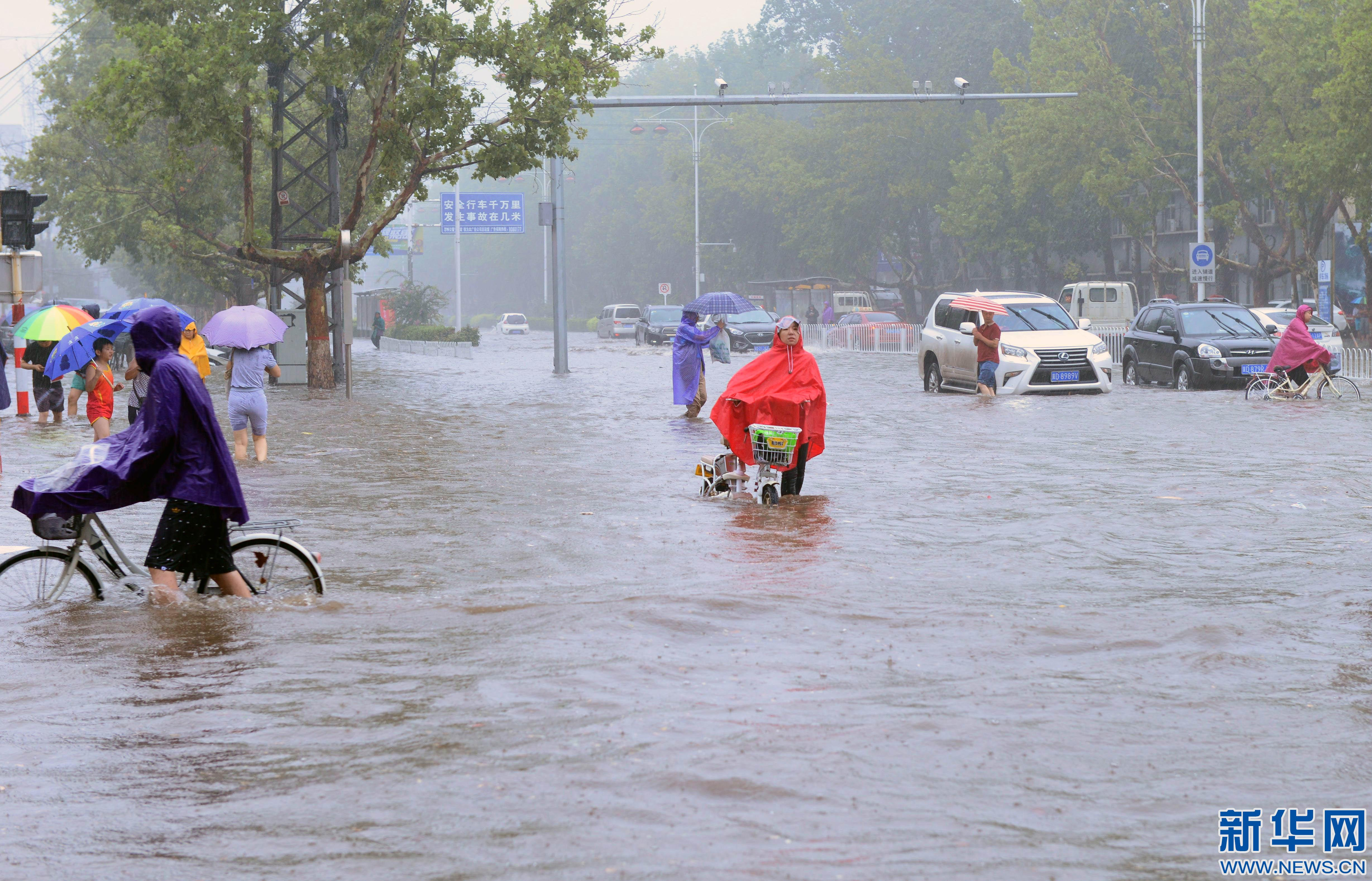 华北多地迎强降雨天气