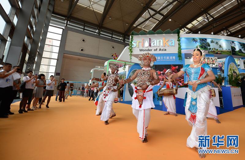 2016西安丝绸之路国际旅游博览会开幕