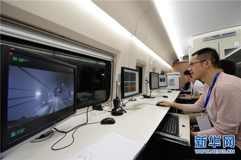我国首条穿越秦岭的高速铁路西成高铁陕西段联调联试正式启动