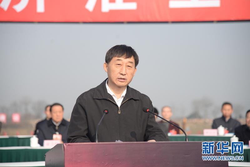 引江济淮工程建设动员大会举行 总投资超900亿