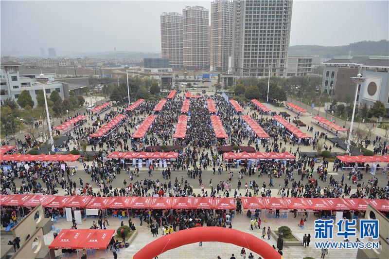 云南省2017年医药类毕业生双选会在云南中医学院举办