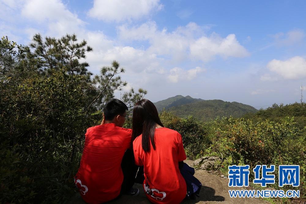 江西石城八卦脑景区开放 1314米海拔见证爱情