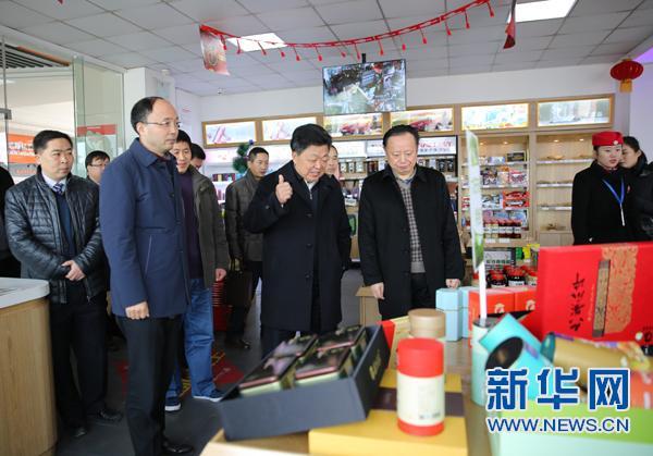 """安徽高速服务区为贫困县农产品销售开""""绿色通道"""""""
