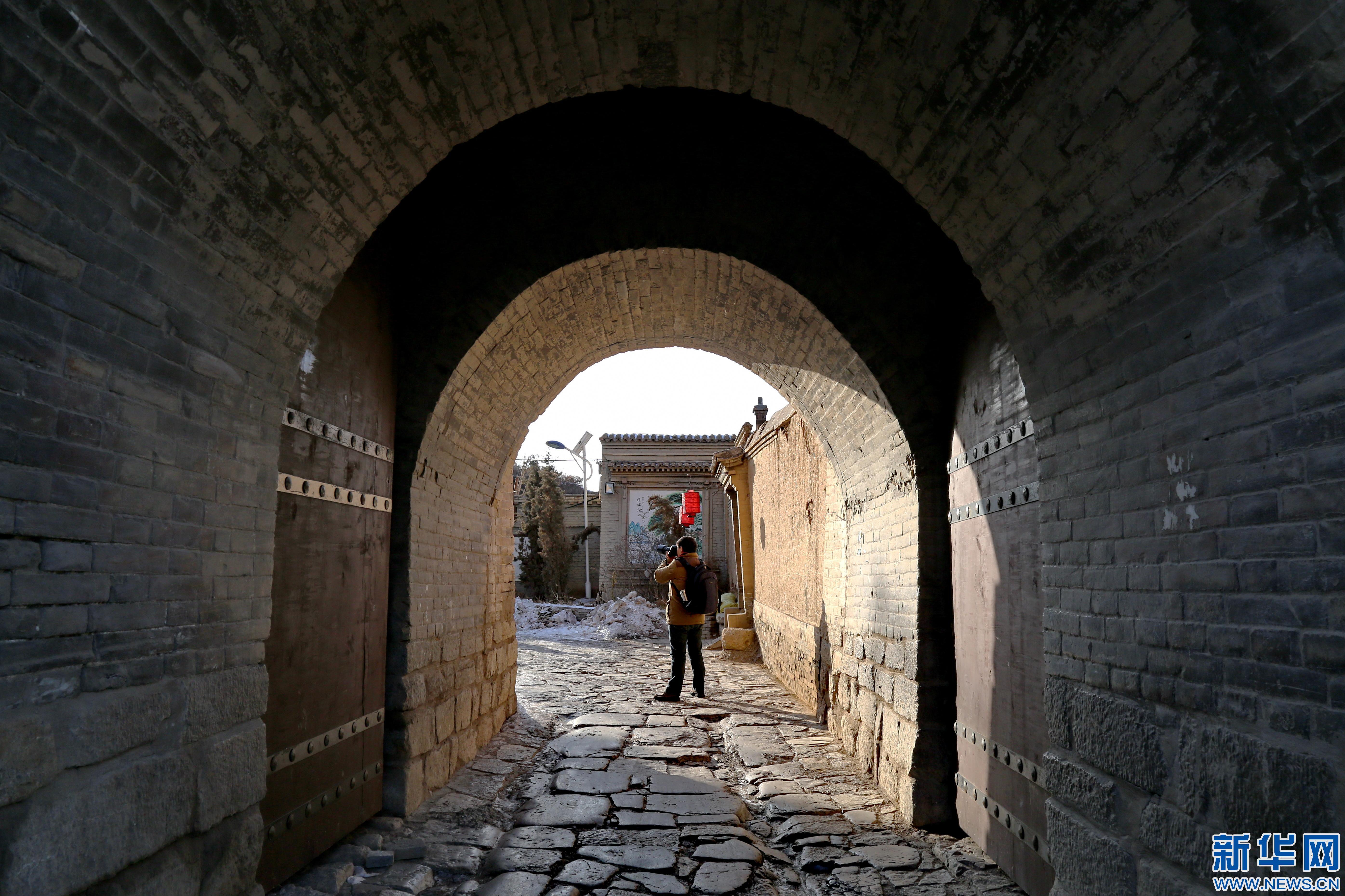 探访河北蔚县西古堡村