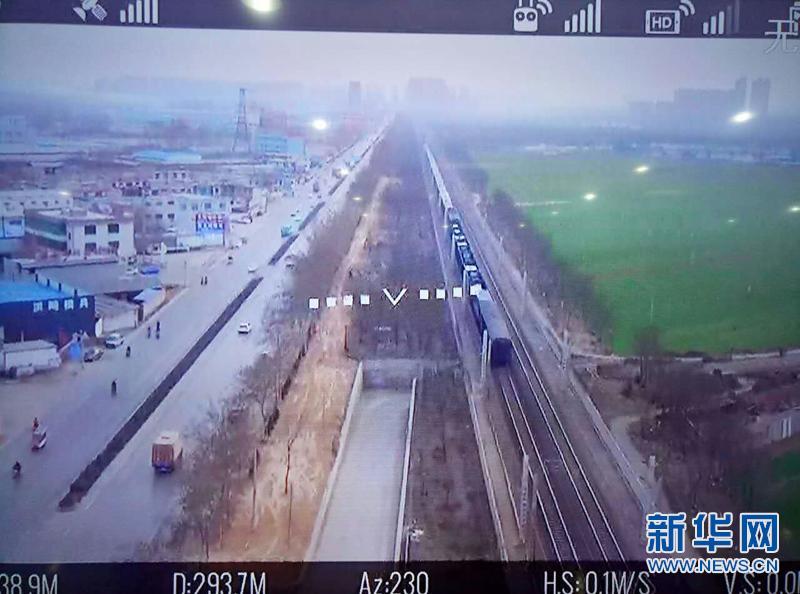 """河北省综治办:探索""""互联网+无人机""""护路新模式"""