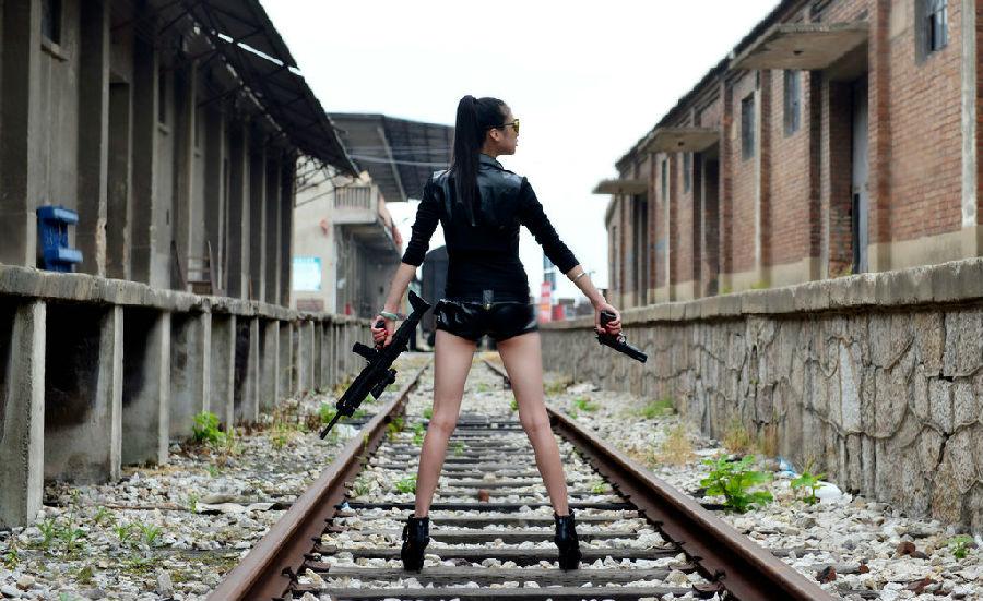 美女战士 新华博客