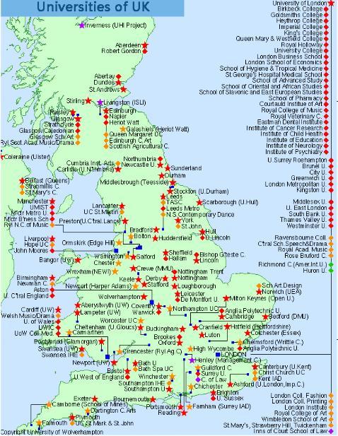 英国地图英文版