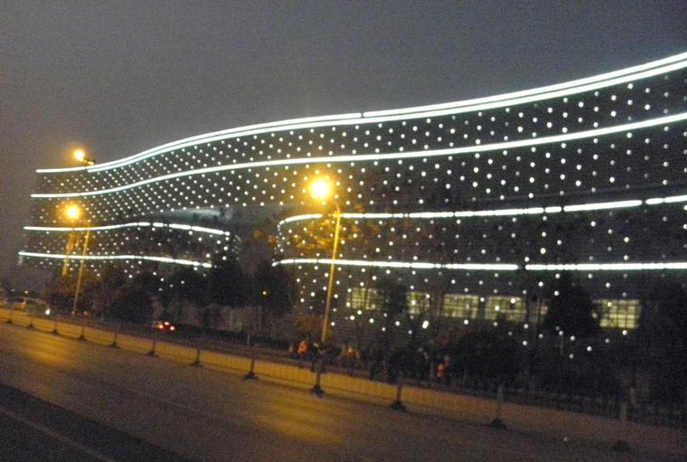 气势恢宏的湖北省图书馆新馆组图 新华博客