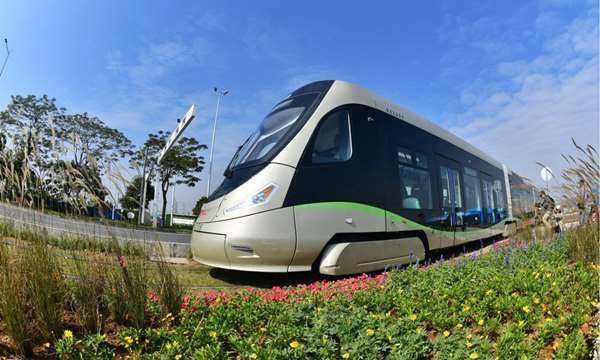 广东上线运营氢能源有轨电车