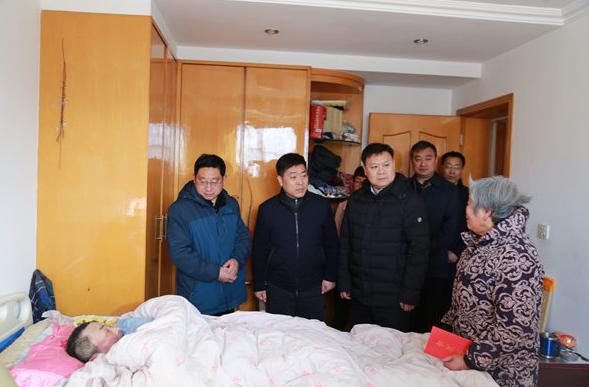扬子江药业春节前访贫问苦助力脱贫攻坚