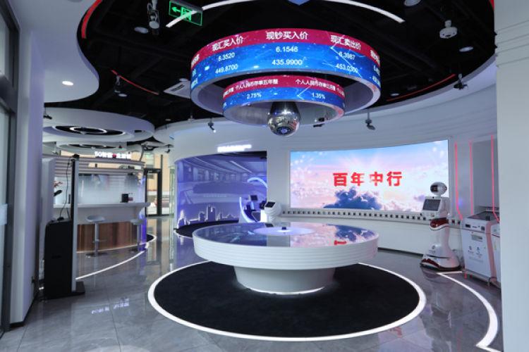中国银行5G智能+生活馆背后隐藏的数学运算你都知道吗?