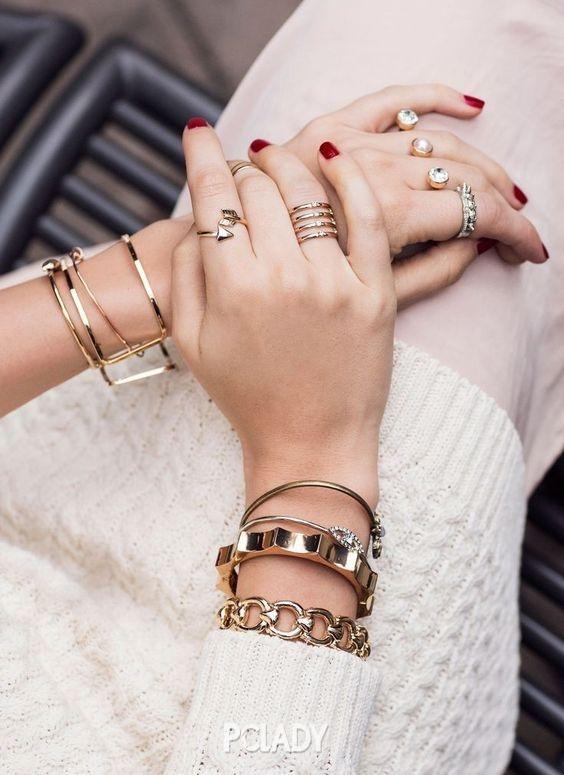 珠宝也有搭配套路 戴对了美到cry
