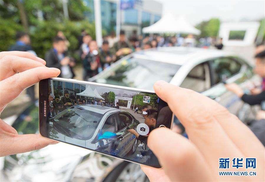 """无人出租车广州上路,但""""谈赚钱""""为时尚早"""