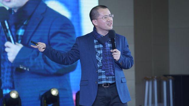 #首届龙8行业名牌峰会暨《龙8名牌》行业名牌培育计划发布会#石章强:做行业第一的品牌运营