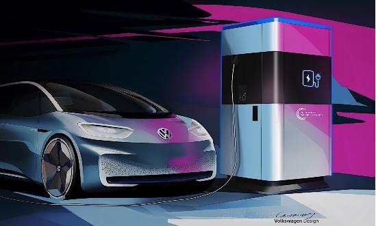 借鉴充电宝 大众推出电动汽车移动充电站