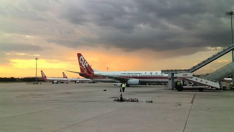 """""""一夜跨越百年"""" 中国首座机场正式关闭"""