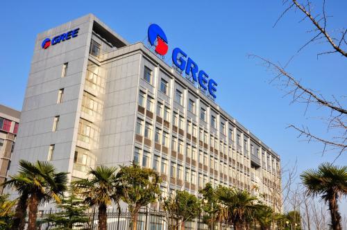 格力电器向天津市海河医院捐赠空气净化器