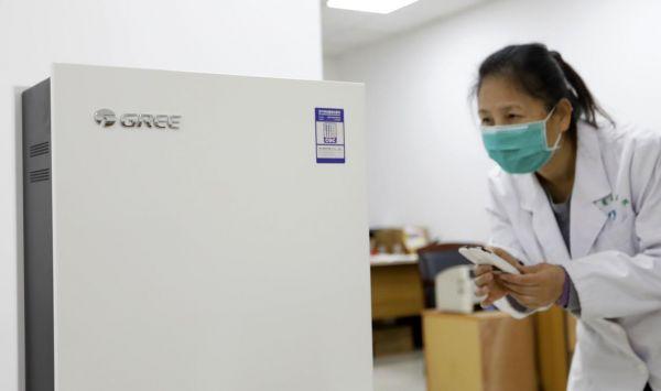 格力电器捐赠50台设备关爱一线医护人员