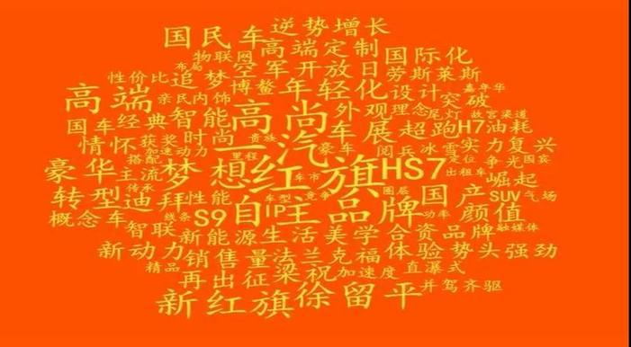 """中国一汽红旗品牌正当""""红"""""""