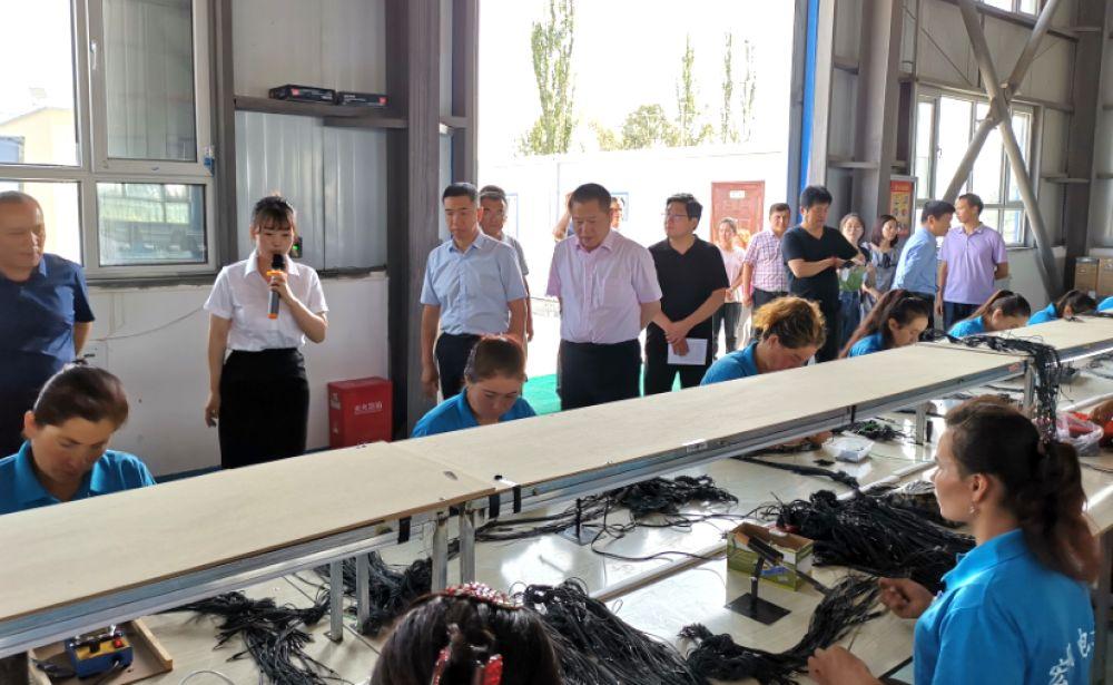 丁佐宏率全国工商联第一调研组赴南疆考察