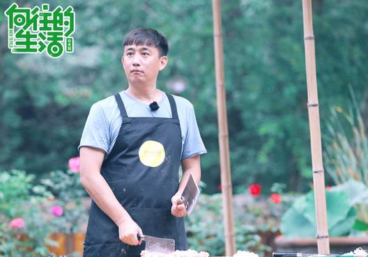 《向往的生活》黄磊、何炅、刘宪华打造桃花