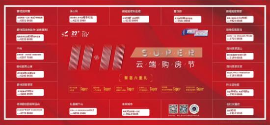 """碧桂园联合苏宁 """"双十一""""跨界燃爆山城"""