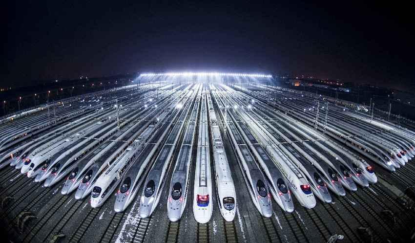 40年·大国名片系列之中国高铁