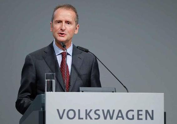 大众集团CEO迪斯明年1月将兼管在华业务