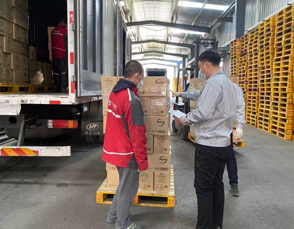 """京东 """"硬核战疫"""":供应16万吨民生产品 承运3000万件医疗应急物资"""
