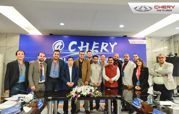 中国制造 世界品质 中东媒体团点赞奇瑞汽车