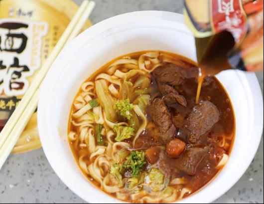 康师傅推高端新品Express速达面馆收获国际粉丝 引领美食文化新潮流