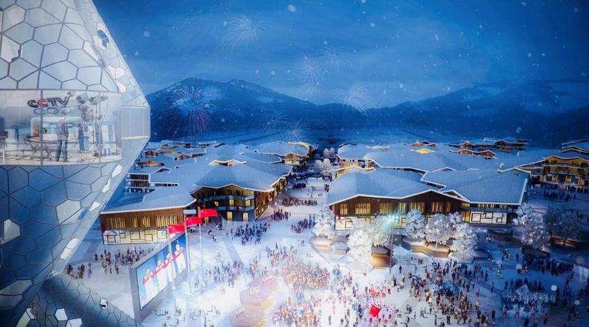 冬奥运临近 京张冰雪小镇建设提速