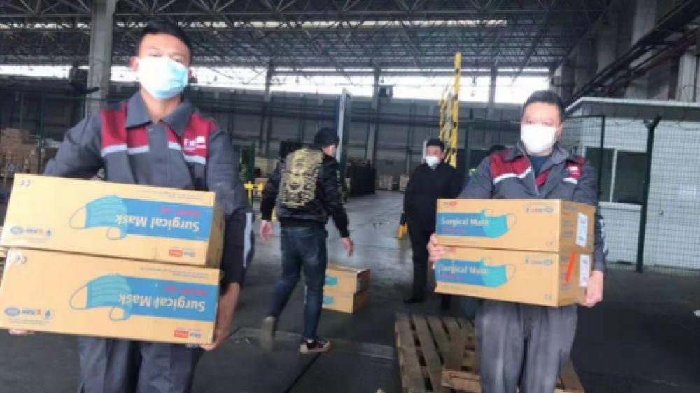 日日顺打通国际物流 助力海外捐赠物资送达疫区