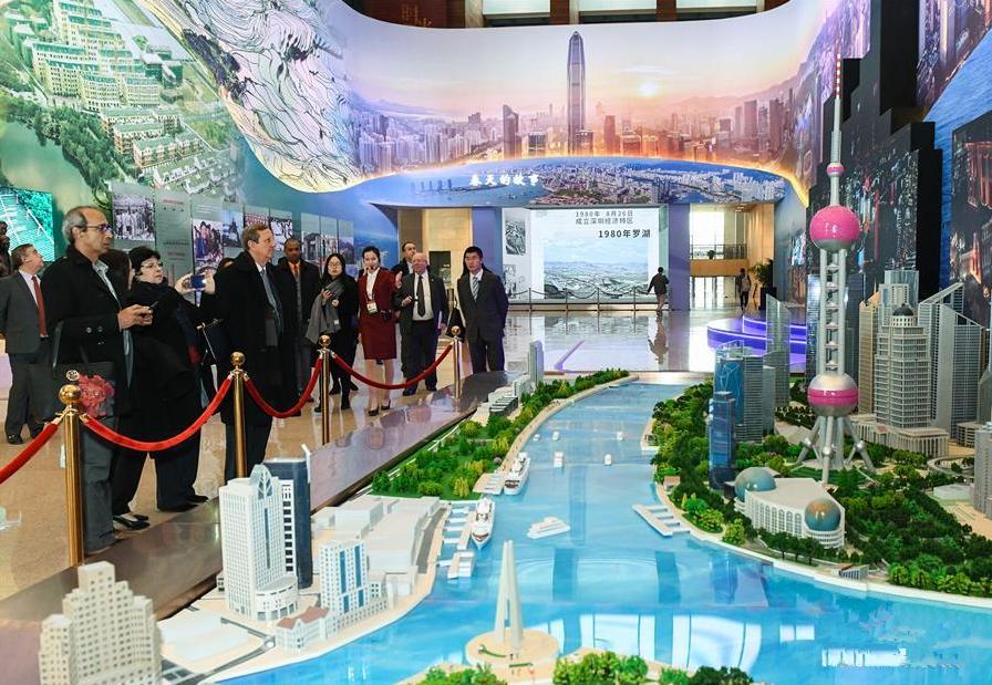 改革开放让中国与世界共赢