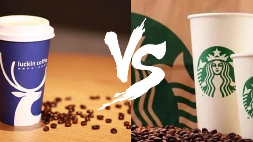 """瑞幸咖啡继续""""叫板""""星巴克 """"小蓝杯""""改变了什么"""