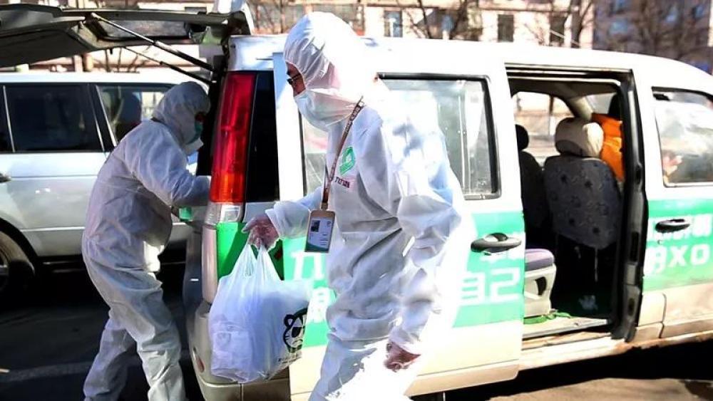 """【品牌战""""疫""""】防控疫情 内蒙古电商创新方式为居民配送生活必需品"""
