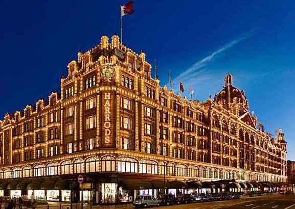 英国老牌百货Harrods将在中国开首店