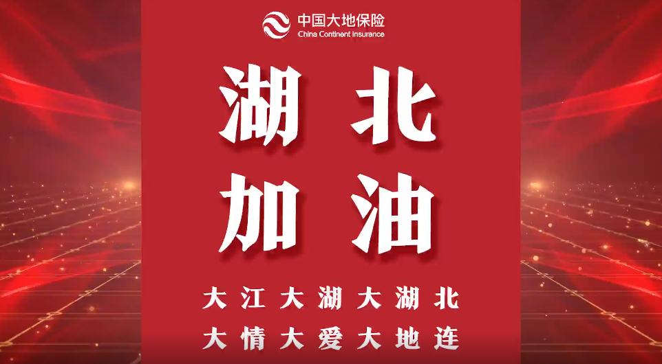 """【品牌战""""疫""""】中国大地保险:众志成城 全力抗疫"""