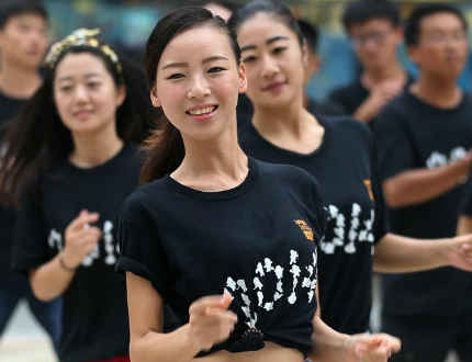 南京青奥会美女志愿