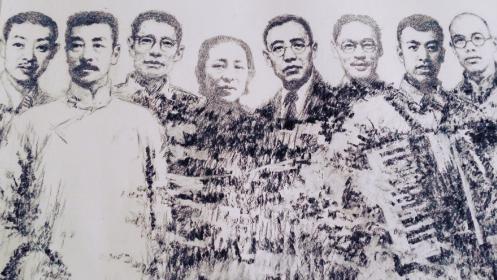 沈北画家王凤岐打造369人《抗战丰碑》