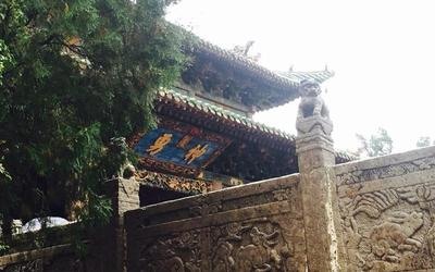"""烟雨中的""""美丽运城、中国之源"""""""