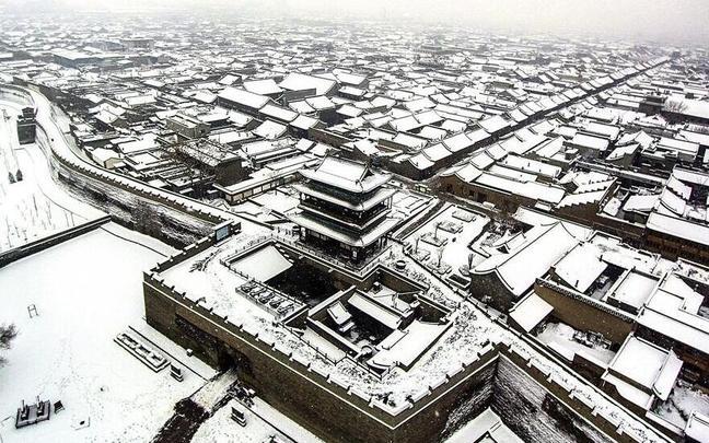 雪后平遥古城