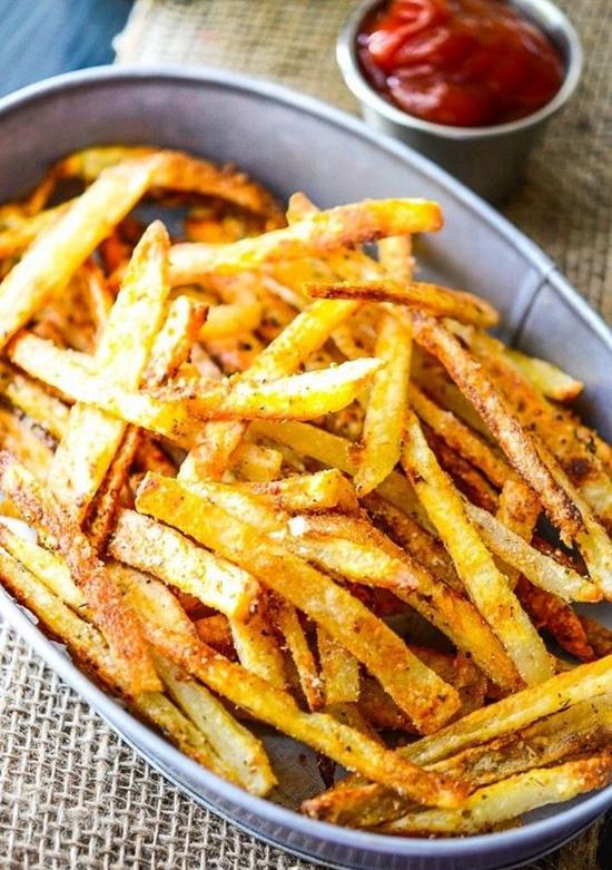 聚会时必不可少的美味薯条 分分钟变身大厨