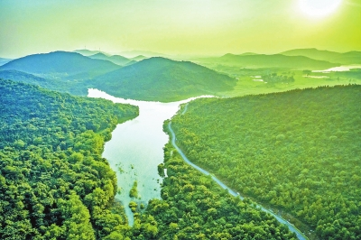 """含山:""""生态之城""""的""""绿色之路"""""""