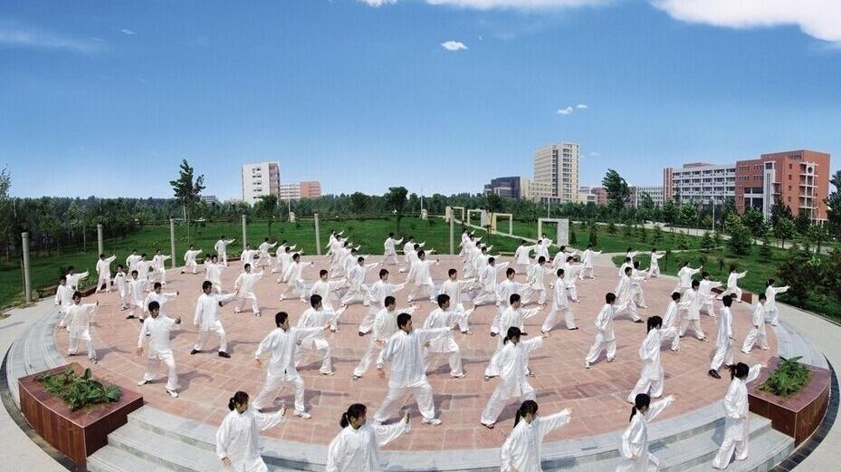沈阳全市有近十万太极拳爱好者