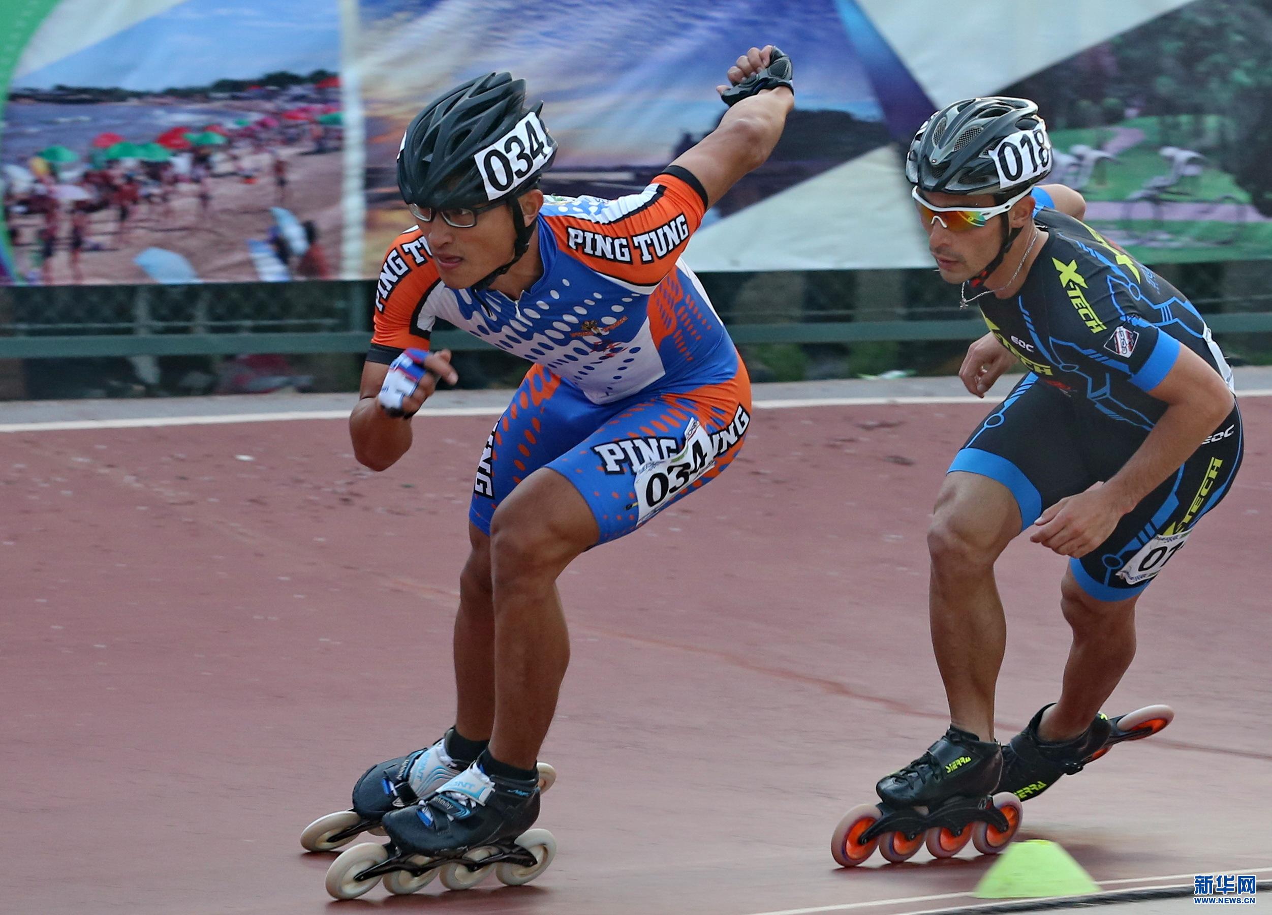 体育 轮滑 北戴河国际速度轮滑公开赛赛况
