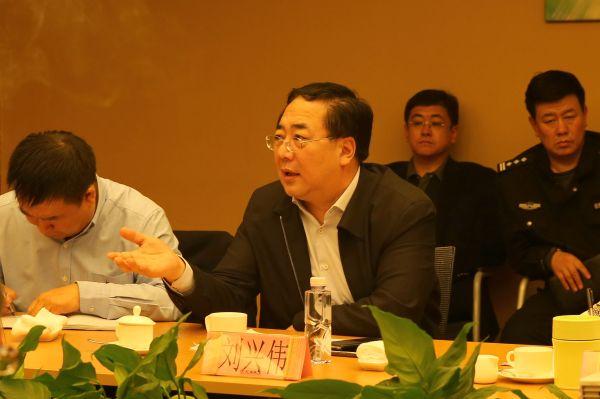 锦州市长刘兴伟会见长城工业集团与华夏幸福基