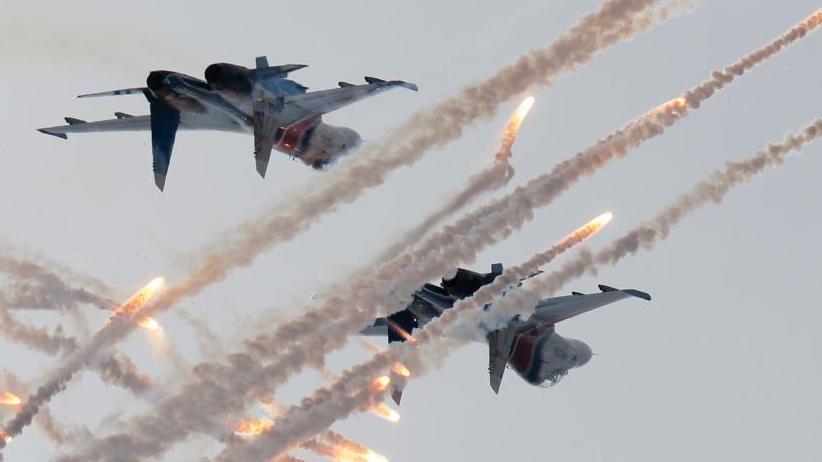 俄罗斯国际海事防务展开幕